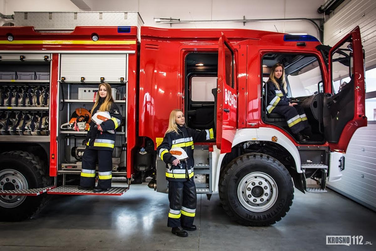 Kobiety W Krośnieńskiej Straży Pożarnej Strazackipl